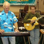 With Steel Guitar Hall of Fame Member L.T. Zinn - HSGA Convention Fall 2006