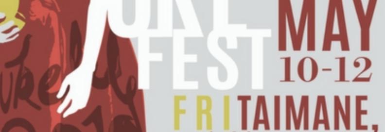 fancy denver uke fest poster with big names