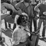 1980. Wheatland Festival, Remus, MI. Dave Ross on guitar.