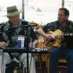 With Steel Guitar Legend Herb Remington (Herb was the steel guitarist for Bob Wills and his Texas Playboys during the Golden Years) - Dallas, Texas - March 2008