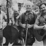 Performing in concert with Western Swing legend Johnny Gimble, late 1980's.
