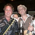 With ukulele troubadour Lil' Rev - Portland Ukefest - Portland, Oregon - June 2008