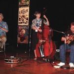 New York Ukefest - NYC, April 2006. The final performance of our Spring Tour 2006 (Marv Reitz - clarinet, Kathy Reitz - bass)