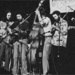 National Public Radio's Prairie Home Companion Show, May 1981. (l-r) Stan Werbin, Gerald Ross, Frank Youngman, Dave Ross, Paul Winder