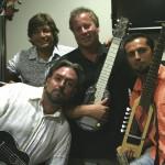 "Sevilla Spain in September 2008 at the Sevilla Ukulele Festival. My friend FranSpain(uke) and his band - Pedro aka ""Peri""(bass), Jose Luis aka ""Jenny""(guitar)."
